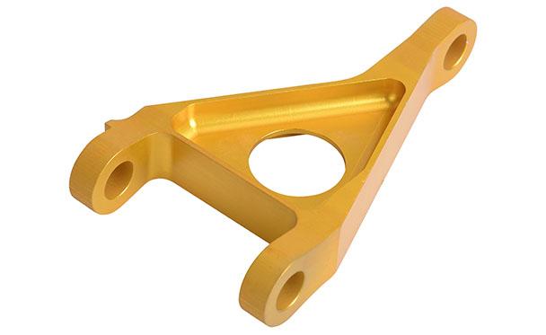 铝合金表面金色氧化精密件